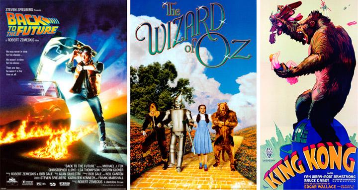 Carteles de películas antiguas y pósters de cine clásico