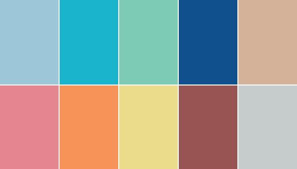 Colores que combinan con el Pantone 2015