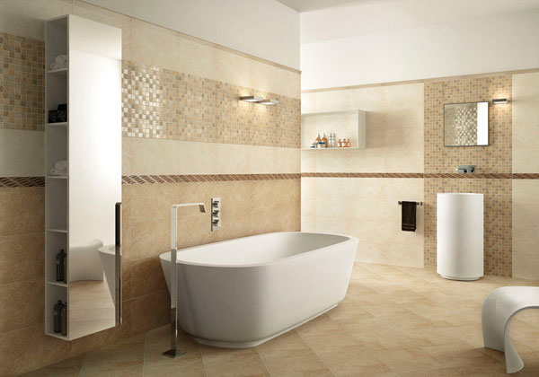 Ideas de azulejos para reformar el ba o decorar hogar - Baldosas banos modernos ...