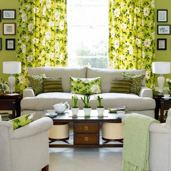 Diseño floral en decoración
