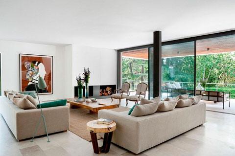 casa reforma de lujo en la moraleja decorar hogar