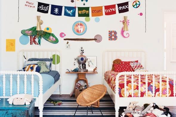 Cómo decorar una habitación compartida