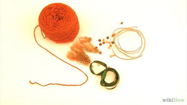 Materiales para construir un atrapasueños casero