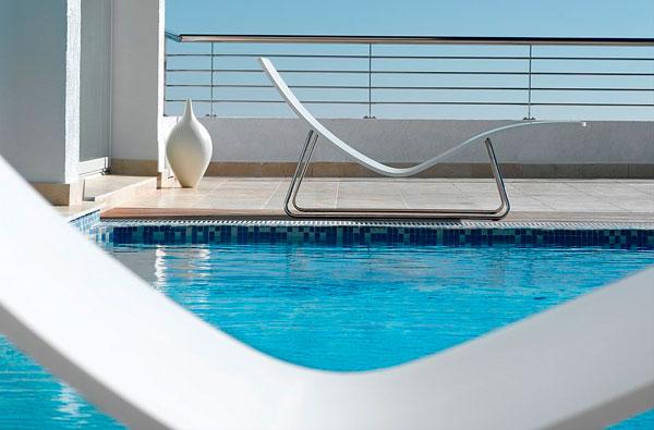 Tumbonas minimalistas de diseño escandinavo