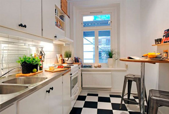 mtodos baratos para decorar la cocina
