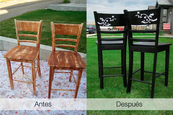 Paso a paso para restaurar sillas viejas