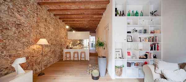 Bonito apartamento restaurado en Barcelona al estilo Siglo XiX