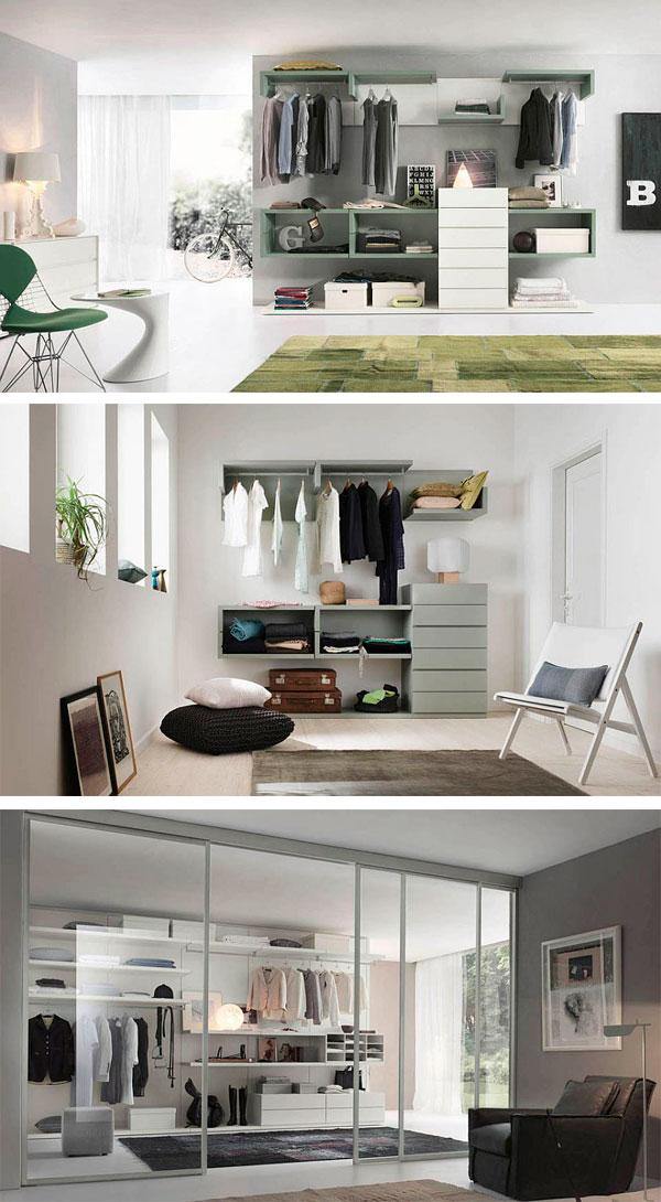 Fotos de armarios abiertos para dormitorios modernos - Decoracion armarios dormitorios ...