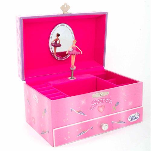 Caja musical joyero para niñas