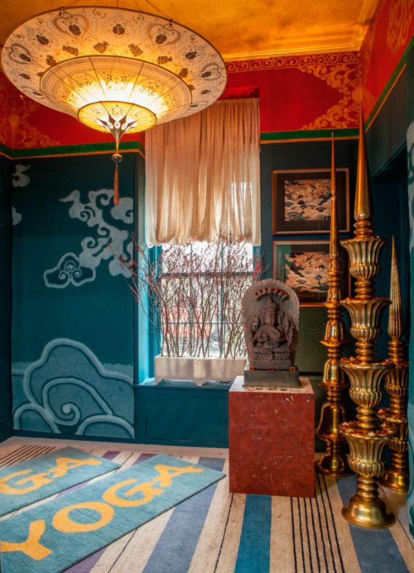 C mo decorar salas de meditaci n tranquilas y elegantes for Decoracion estilo hindu