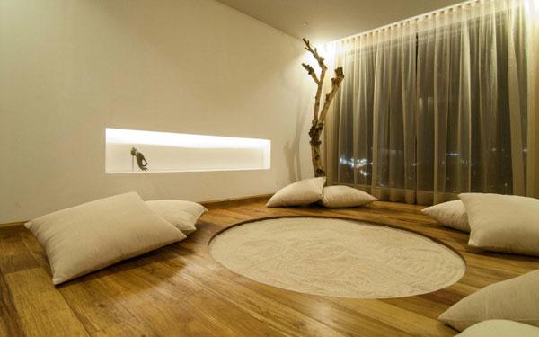 C mo decorar salas de meditaci n tranquilas y elegantes for Decoracion zen habitacion