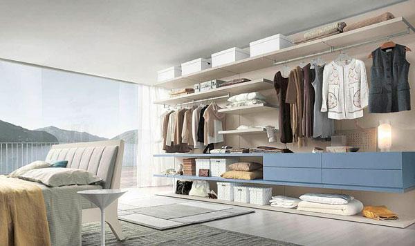 Diseñar una pared para convertirla en un armario al a vista