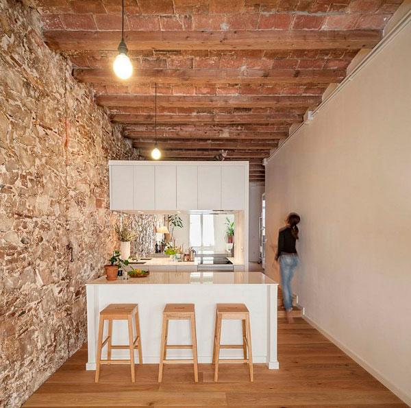 Pequeño piso renovado en Barcelona