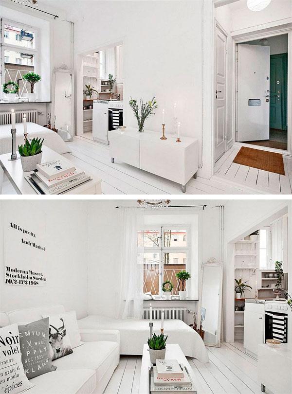 piso peque o de estilo escandinavo decorar hogar