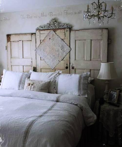 Hacer un cabecero para la cama con una puerta