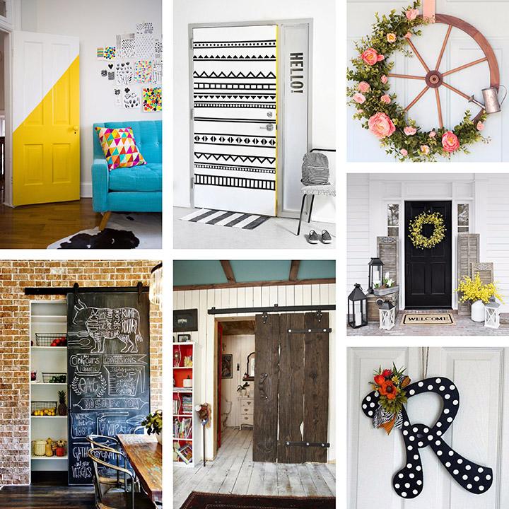 Ideas para decorar puertas de casa