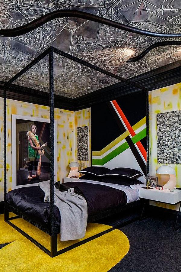 Dormitorio para adolescentes de ciudad