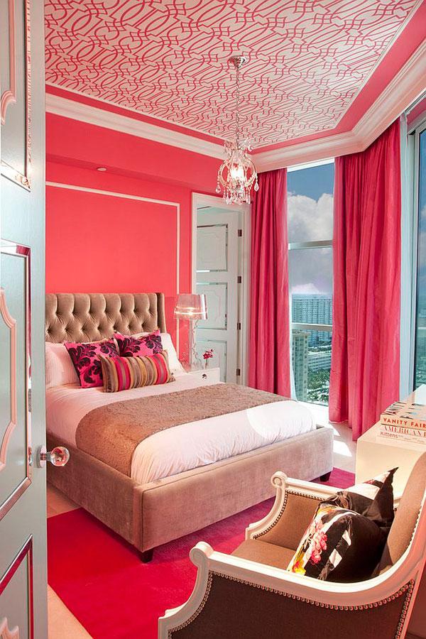 Precioso dormitorio clasico y colorido para chicas