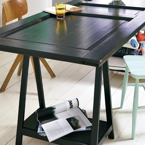 Como hacer una mesa de comedor con una puerta casa dise o for Como hacer una mesa de comedor