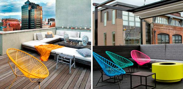 4 sillas de exterior de dise o decorar hogar