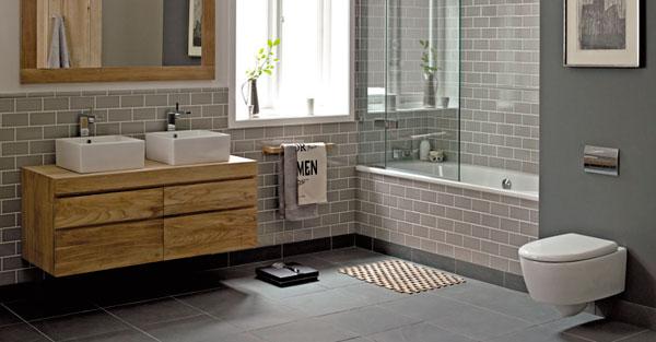 Baños de diseño con accesorios minimalistas