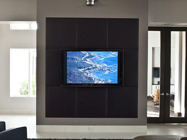 Camuflar la televisión para integrarla con la decoración