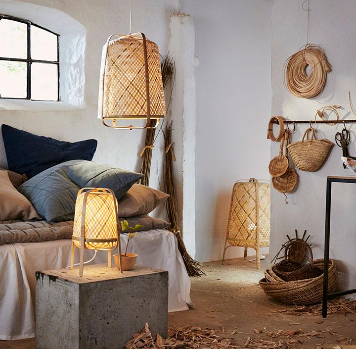 Ideas para decorar la casa con bambú