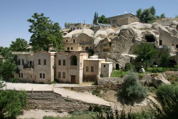 Hotel en Capadocia que son auténticas cuevas trogloditas