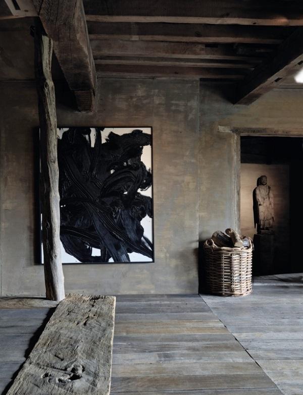 Diseño rústico de interiores Wabi Sabi