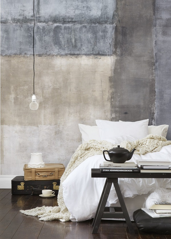 Dormitorio austero Wabi Sabi