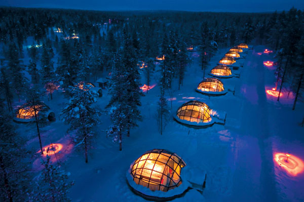 Hoteles Iglús en Finlandia