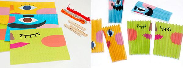 Imprimir y hacer abanicos de papel divertidos
