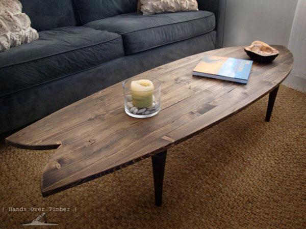 Decorar con tablas de surf ideas y fotos - Tablas para mesas ...