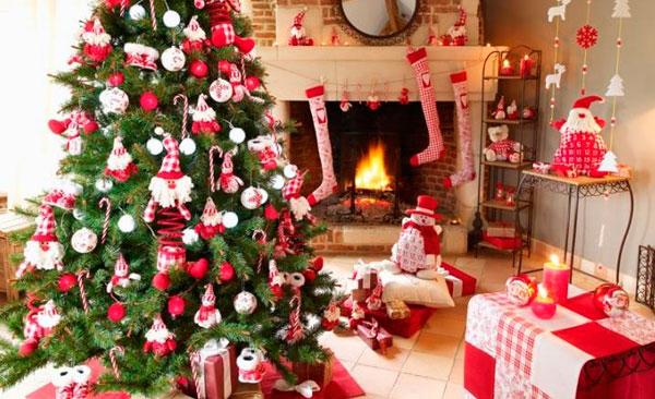Adornos colgantes para el árbol de Navidad