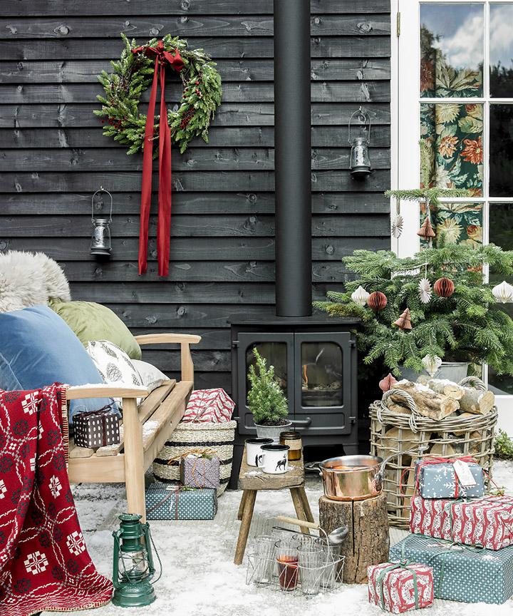 Como decorar un escaparate para Navidad