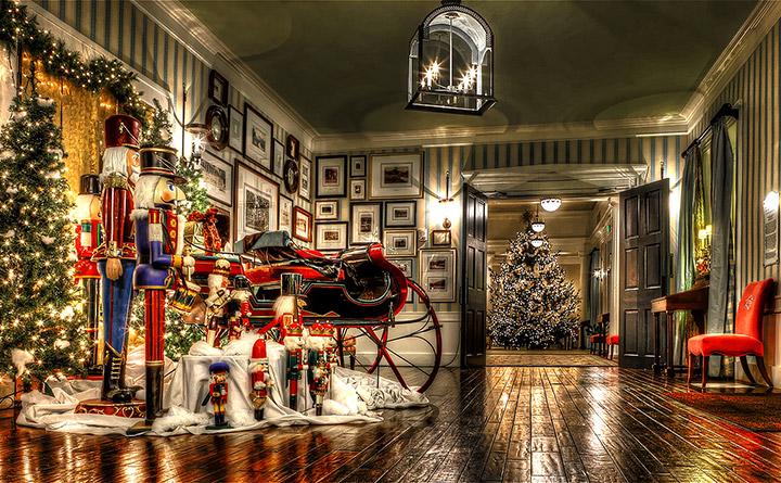 Cómo decorar un negocio para Navidad