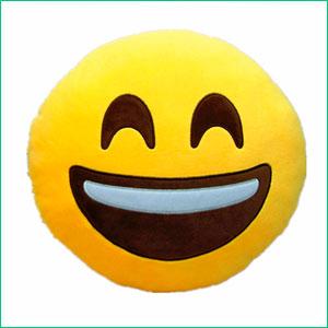 Emoticono cara sonriente para regalar a quien estrena casa
