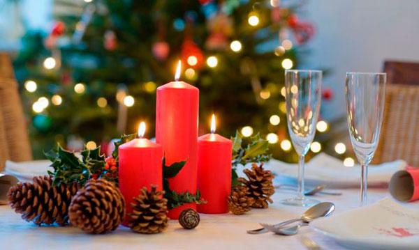 Qué velas se encienden en Nochebuena