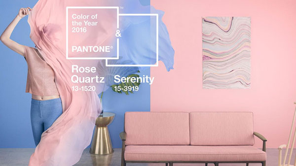 Color Pantone 2016 decoración