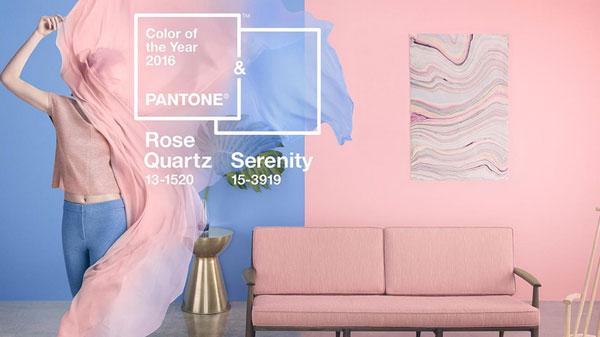 Color Pantone 2016 decoración