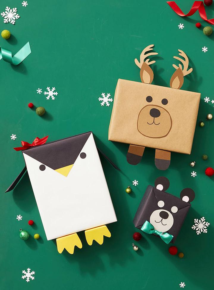 Ideas divertidas para envolver regalos de navidad para niños
