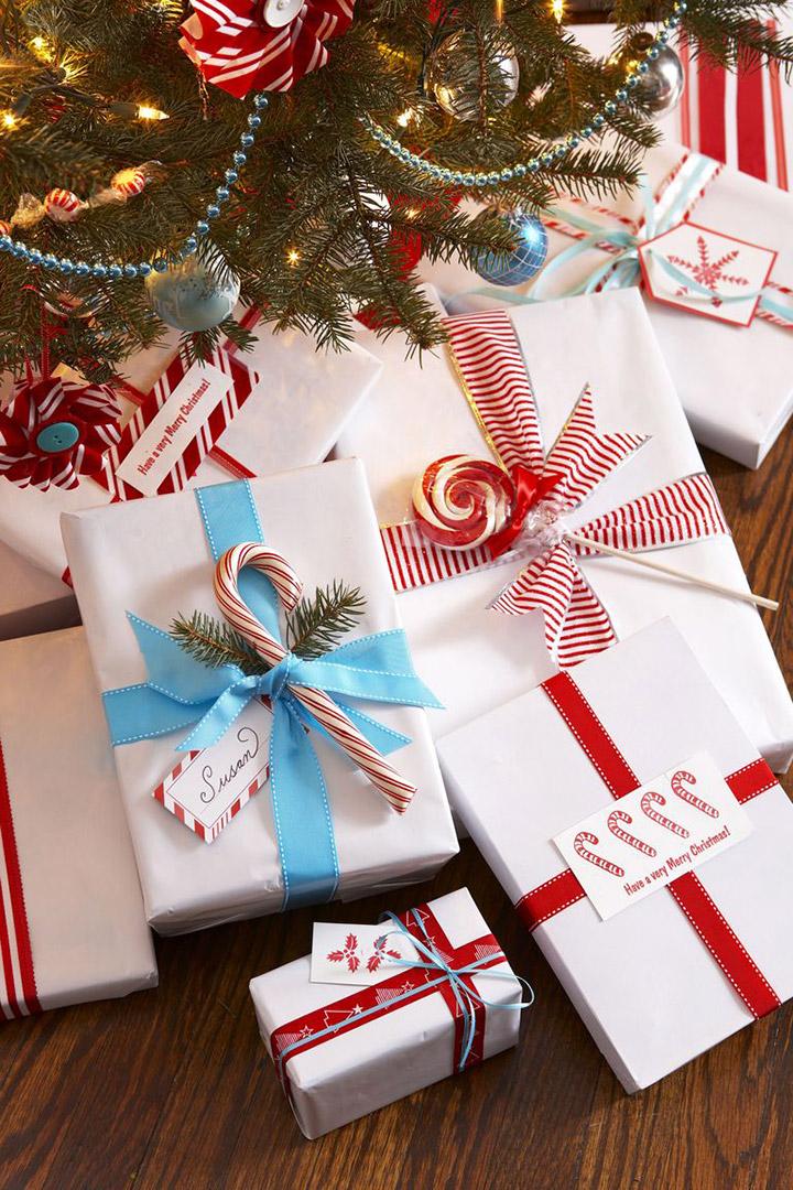 Envolver regalos de navidad originales