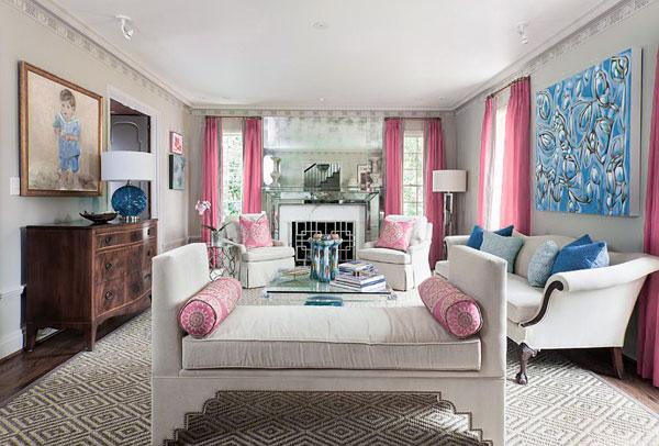 Decoracion de salones 2016 con color Pantone
