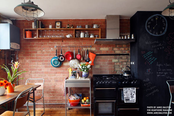 Cocinas de colores es tendencia en 2016
