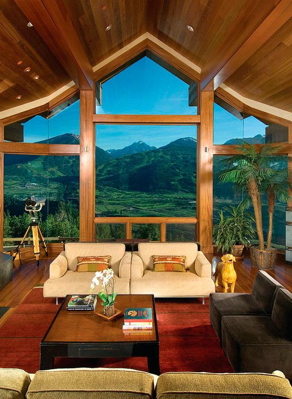 Vistas exteriores para decorar el salón