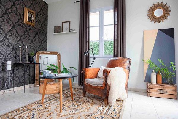 Tendencias en 2016 Decoración de salones vintage