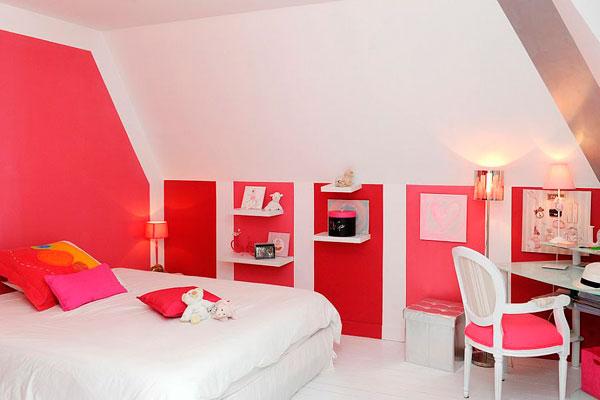 Habitaciones infantiles en rojo muchas fotos - Habitaciones infantiles en blanco ...
