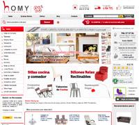 Homy comprar muebles decoración online