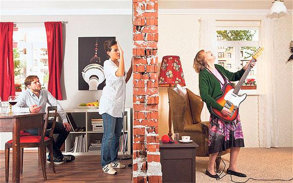 Solucionar ruidos de los vecinos