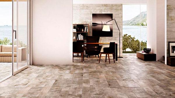 Ideas de suelos porcel nicos que parecen madera - Baldosas imitacion madera ...